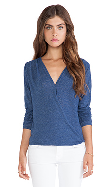 Velvet by Graham & Spencer Jeanne Soft Textured Knit Top in Whirlwind