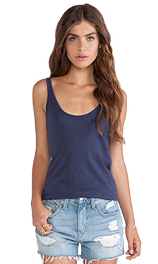 Velvet by Graham & Spencer Lee Cotton Slub Tank in Liberty