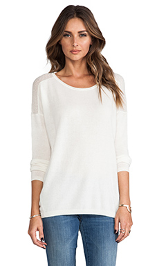 Vince Cashmere Sweater in Winter White