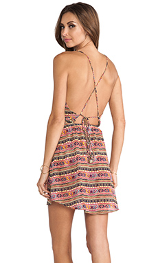 Sofia by Vix Swimwear Nisha Short Dress in Gandhi