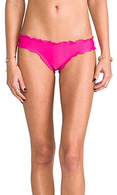 Sofia by Vix Swimwear Ripple Rio Bottom in Solid Rocotto