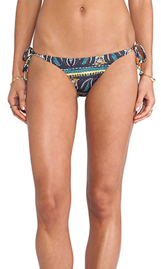 Sofia by Vix Swimwear Agra Tie Side Bottom in Dark Blue