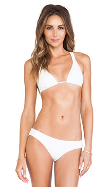 Sofia by Vix Swimwear Strings Top in White
