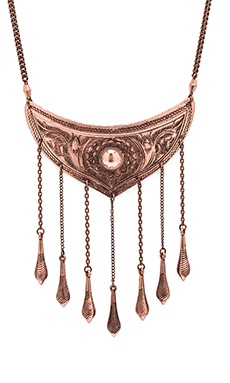Vanessa Mooney Luminous Necklace in Copper