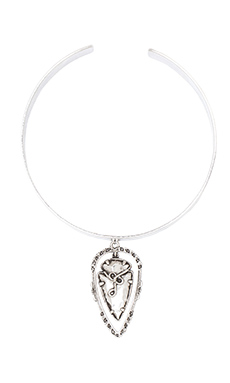 Vanessa Mooney Illuminations Choker in Silver