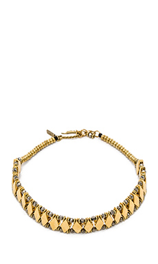Vanessa Mooney Ethereal Choker in Gold
