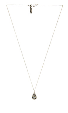 Vanessa Mooney Eclipse Necklace in Silver