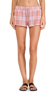 Wildfox Couture Plaid Short in Multi