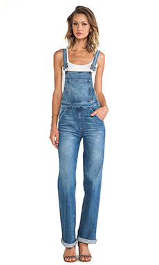 Wildfox Couture Ladonna High Rise Straight Overall in Idol