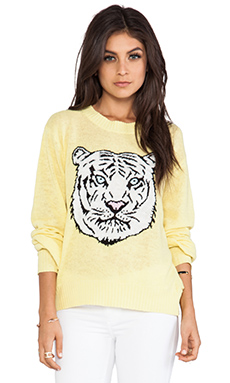 Wildfox Couture Holiday White Tiger in Sunlight