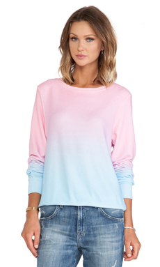 Wildfox Couture I Am the Ocean Sweater in Multi