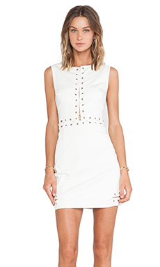 Wish Halt Dress in Cream