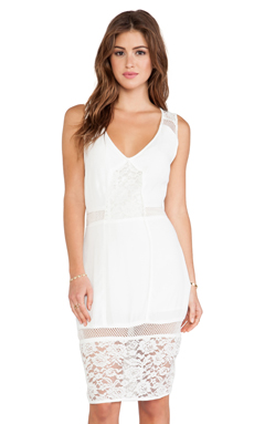 Wish Boulevard Dress in White