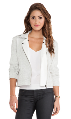 Wish Hush Jacket in White
