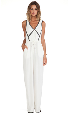 Wish Reverse Jumpsuit in White