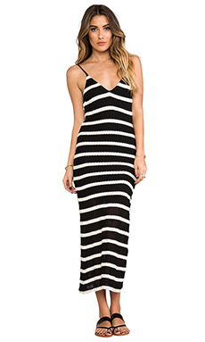WOODLEIGH Kiera Maxi Dress in Black