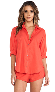 XiRENA Beau Button Up in Poppy