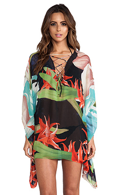 Young, Fabulous & Broke Aquatic Cover Up in Flora Print