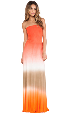 Young, Fabulous & Broke Bangal Maxi in Fire Ombre