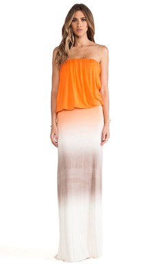 Young, Fabulous & Broke Sydney Maxi in Orange Ombre