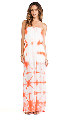 Young, Fabulous & Broke Emmy Maxi in Papaya Kaleidoscope