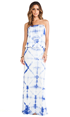 Young, Fabulous & Broke Sydney Maxi in Blue Kaleidoscope