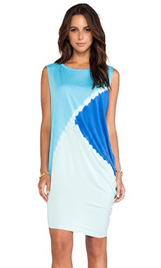 Young, Fabulous & Broke Jana Dress in Royal Tri Block
