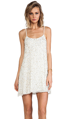 Yumi Kim Randy Dress in White Beaded