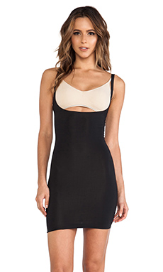 Yummie Tummie Grace Low Back Bustier Slip in Black