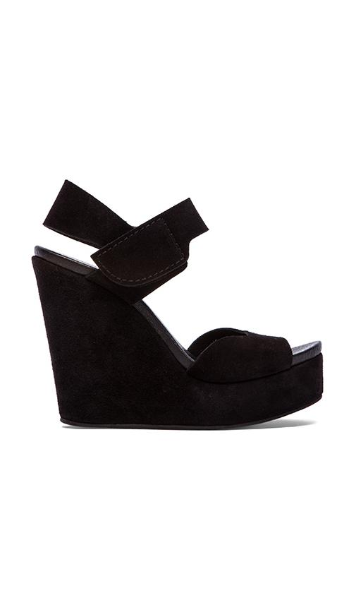 Pedro Garcia Tilda Wedge in Black